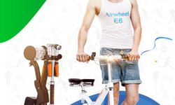 Airwheel E6 Foldable Electric Bike-Your Edge Tool to Be Trendy