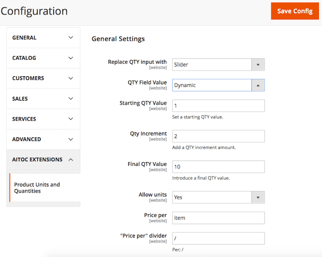 How to Set Custom Product Units and Quantities in Magento 2 • TecheHow