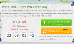WinX DVD Ripper Platinum Review Plus Spring Giveaway