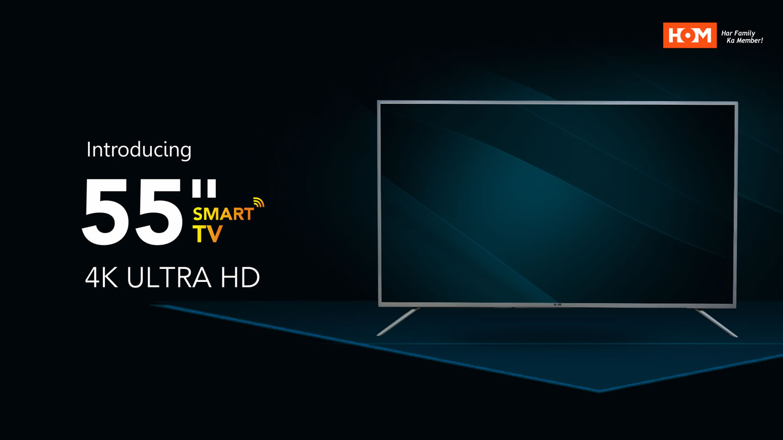 "55"" Smart LED 4K TV"