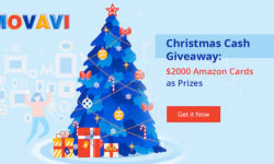 Win Amazon Gift Card with Movavi