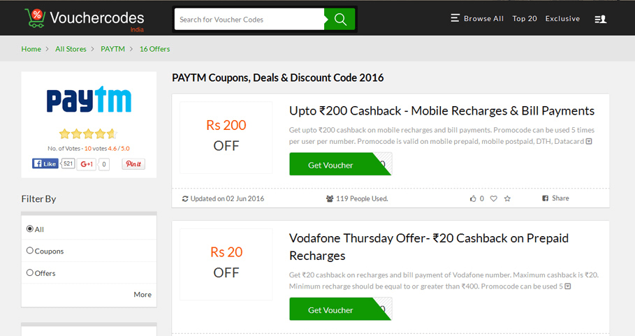 Get The Right Shopping Discount Vouchers And Deals Online Techehow