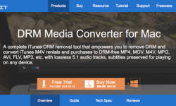 The Tuneskit DRM Media Converter For Mac