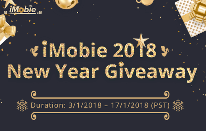iMobie 2018 New Year Giveaway - Win Samsung S8/HUAWEI Mate